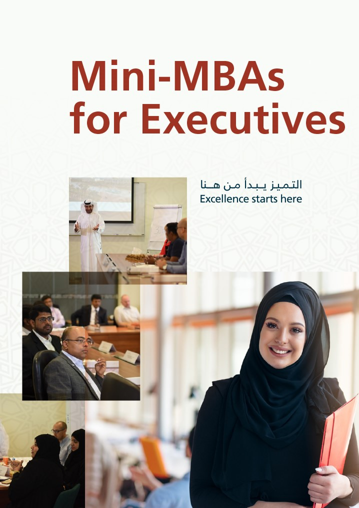 American University of Sharjah Center for Executive and Professional Education Mini-MBAs for Executives